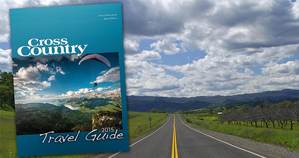 Introducing the Cross Country Travel Guide 2015 – Free to subscribers