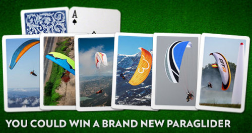 Win a paraglider in the Cross Country prize draw 2015