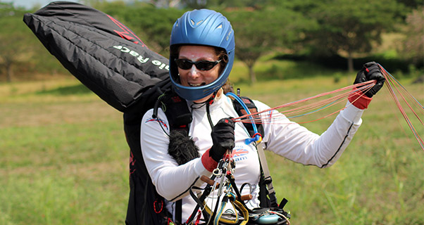 Paragliding World Championships: Kirsty Cameron