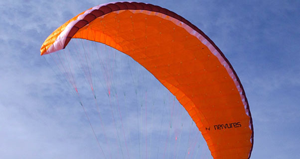 Nervures Whizz mountain and speedflying wing