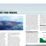 Gordon Rigg on flying wave