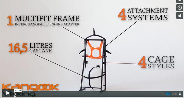 Video: Kangook Vikking modular paramotor