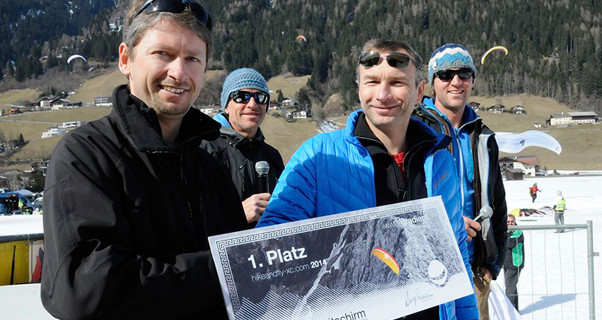 Didi Siglbauer wins Gradient wing in Hikeandfly-XC comp