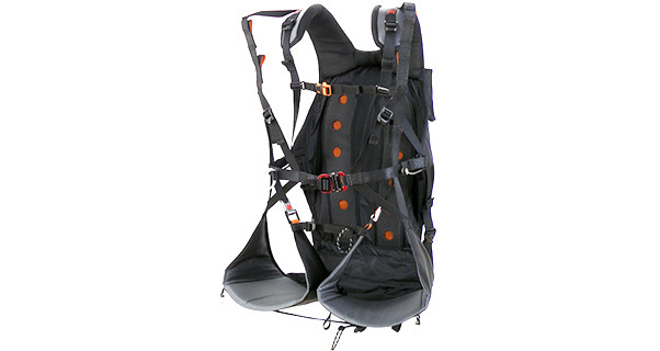 Apco's split-legged paramotor harness