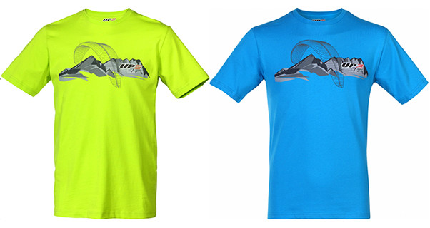 UP's 2015 paragliding T-shirts