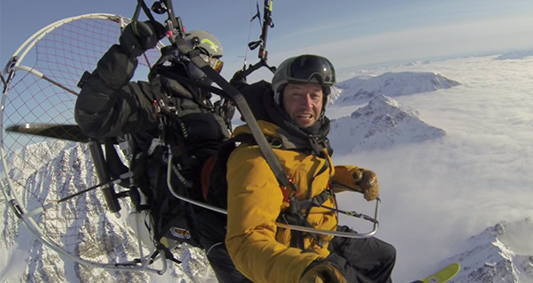 Paramotoring Svalbard: 78 Degrees North