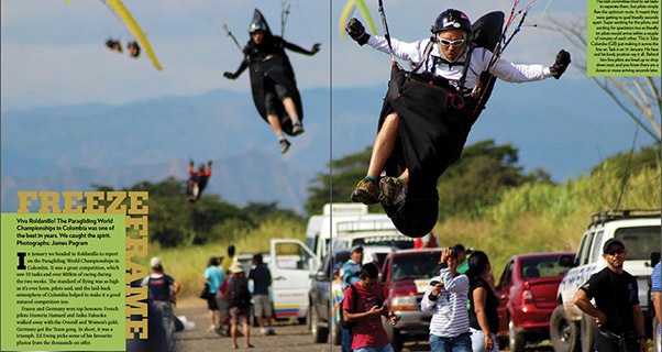 Freeze Frame: Paragliding Worlds 2015