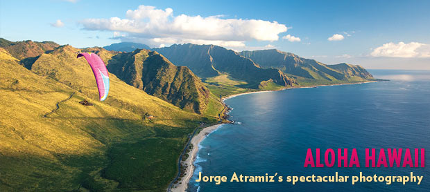 Paragliding in Hawaii with Jorge Atramiz