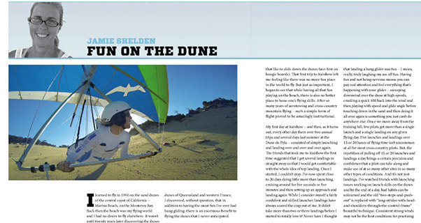 Dune gooning and why it's good for you