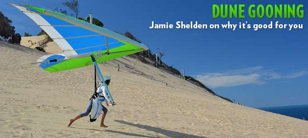 Dune gooning with Jamie Shelden