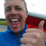 Carl Wallbank sets new UK hang gliding record