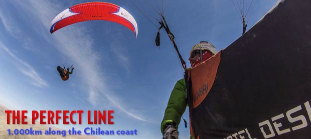 Paragliding in Chile