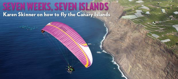 Paramotoring the Canaries