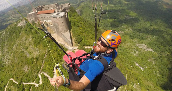 Made in Haiti: Nick Greece goes paragliding