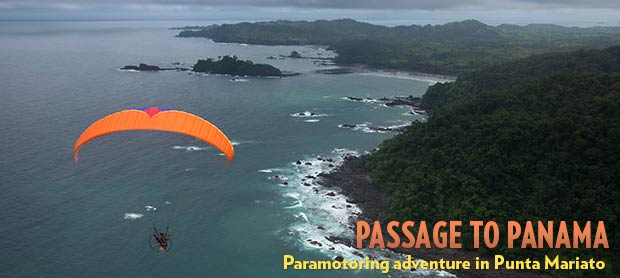 Paramotoring in Panama