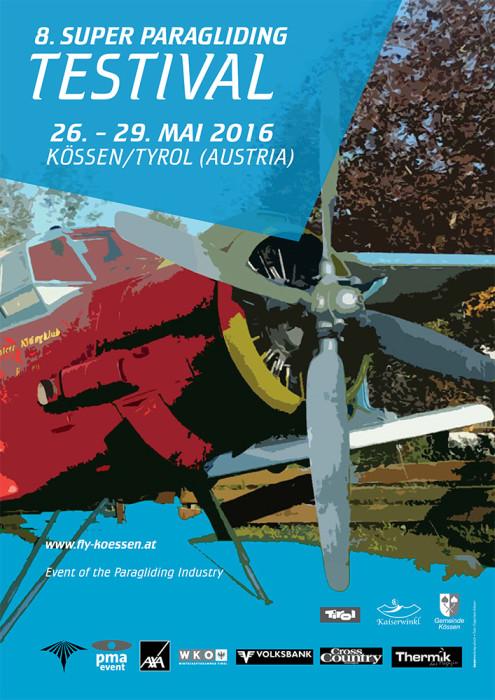 Koessen Super Paragliding Testival 2016 @ Kössen | Tyrol | Austria