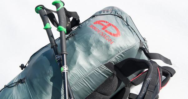 Lightweight paraglider rucksack from AirDesign