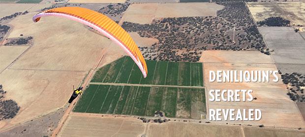 Paragliding in Deniliquin