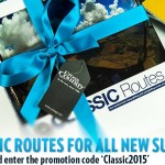 Subscribe and claim a free copy of Classic Routes