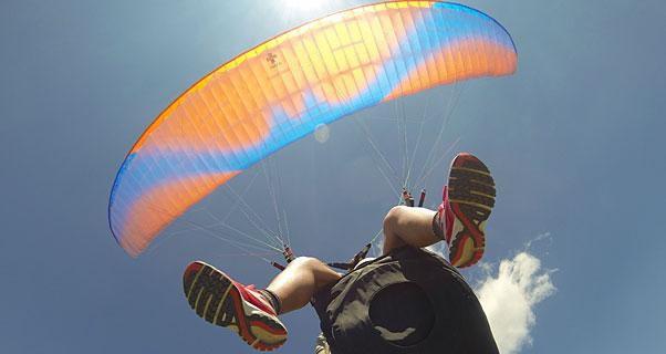 Maya Nomad tandem paraglider