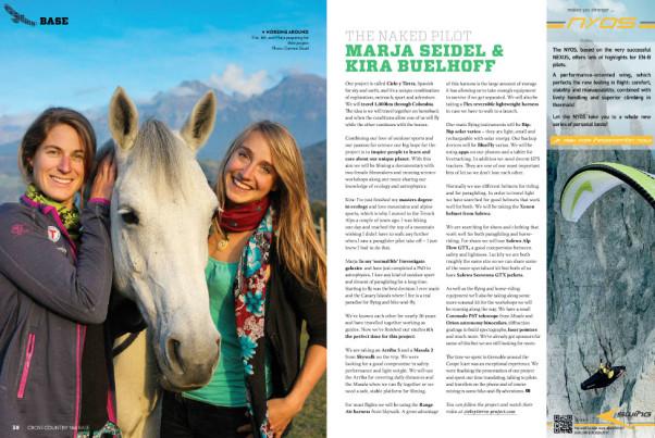 Marja Seidel and Kira Buelhoff