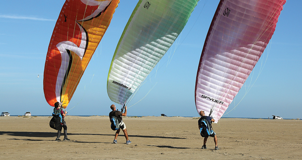 Kiting in Oman