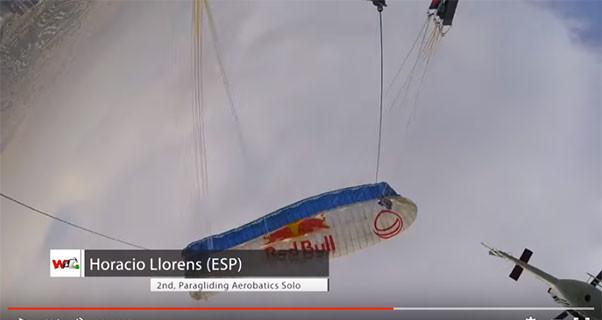 Acro solo at the World Air Games in Dubai