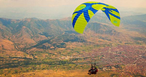 Icaro Parus tandem paraglider