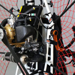 Fly Products paramotors with ASC hangpoint system