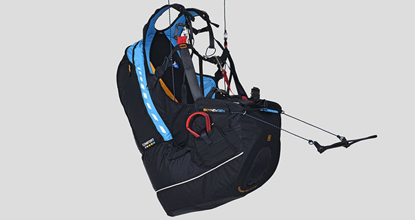 Sky Gii 3 series paraglider harnesses