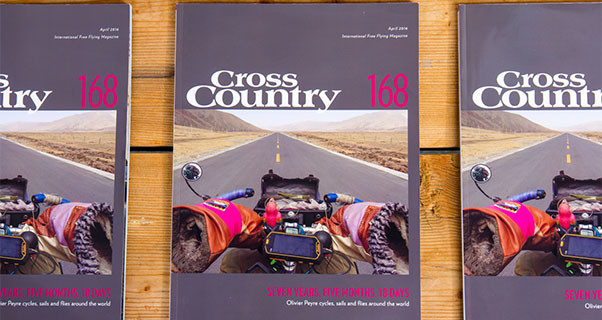 Cross Country 168: April 2016