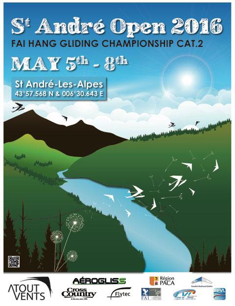 Saint Andre Open (HG) 2016 @ Saint-André-les-Alpes | Provence-Alpes-Côte d'Azur | France