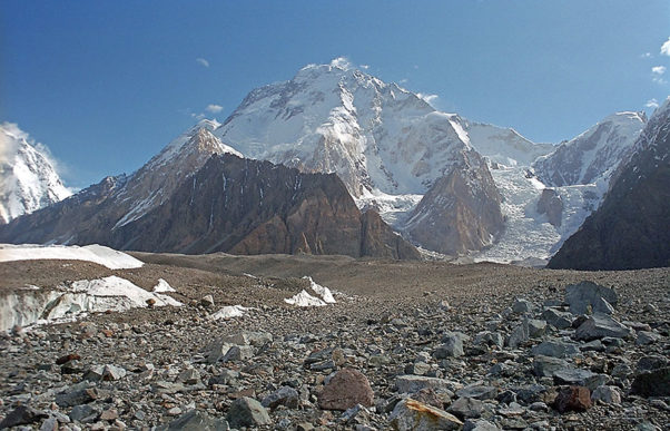 Broad Peak. Photo: Wikipedia Commons / Kogo