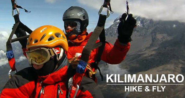 Hike-and-fly from Kilimanjaro in October 2016