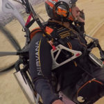 Nirvana release low-hangpoint paramotor harness