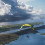 Islands in the storm: Paramotoring in Shetland
