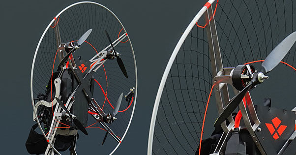 Revolt introduce innovative electric paramotor