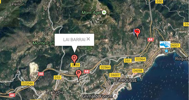Temporary closure of Monaco's Lai Barai launch