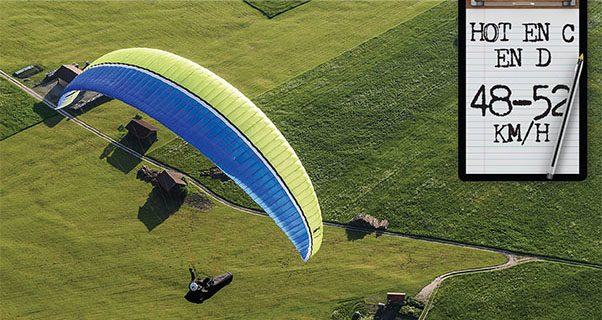 How Fast Does it Go? Testing Paraglider Speeds