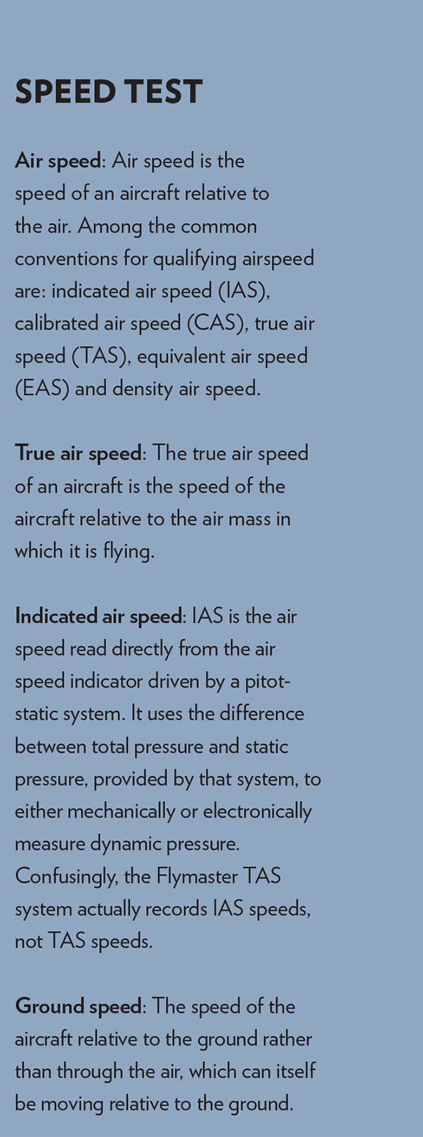 airspeed-definitions