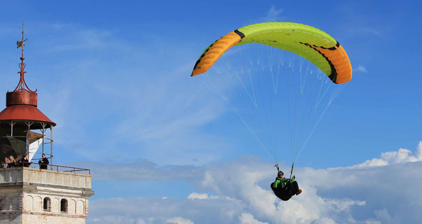 Niviuk introduce the Roller, speedflying wing