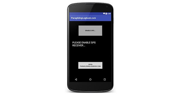 ParaLog app: Logbook and Recorder for Android