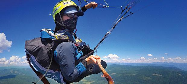 Ben Jordan Paragliding