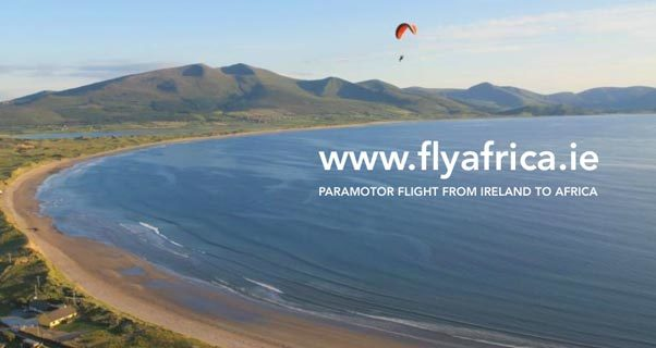 Flyafrica.ie: Ireland to Africa by paramotor