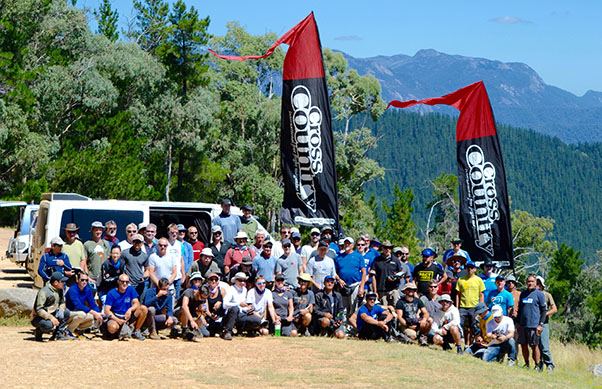 Team Bright ... pilots at the Bright Paragliding Open 2017