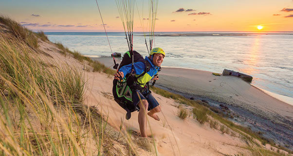 Paragliding on hold for parts of the Dune du Pyla