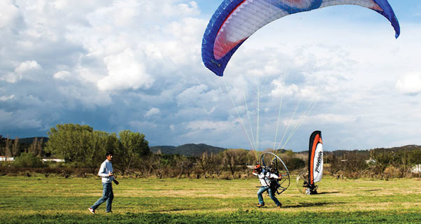 How to make the switch from paragliding to paramotoring