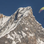 Cover story: Tandem paragliding over sacred Machapuchare