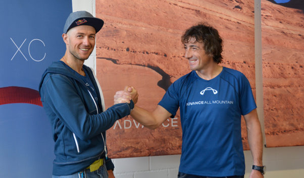 Aaron Durogati and Toma Coconea will be flying Advance in the 2017 Red Bull X-Alps