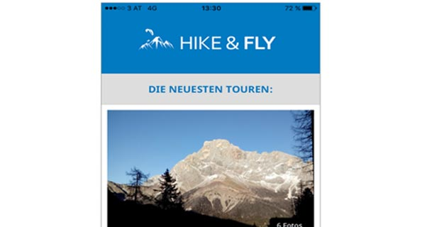 Hike-and-Fly planning tool now a mobile app